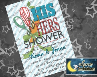 His & Hers Shower Invitation