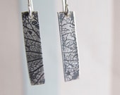 Rustic sterling silver dr...