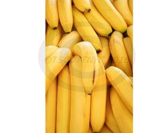 digital download, bananas,original photograph, background,copy space,stock photo,fresh produce, fruit, food, raw, full frame,yellow,