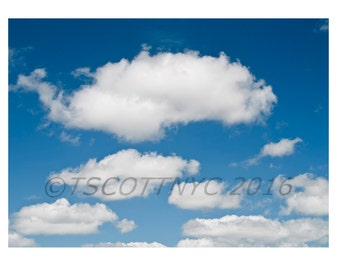 digital color photograph of clouds,  instant download,royalty free stock photo, background,immediate download print, summer