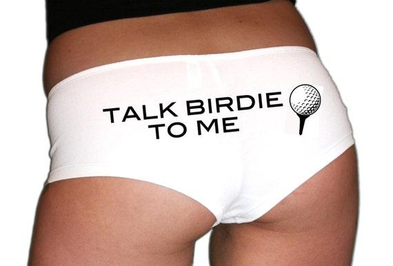 Talk Birdie To Me Golf Underwear