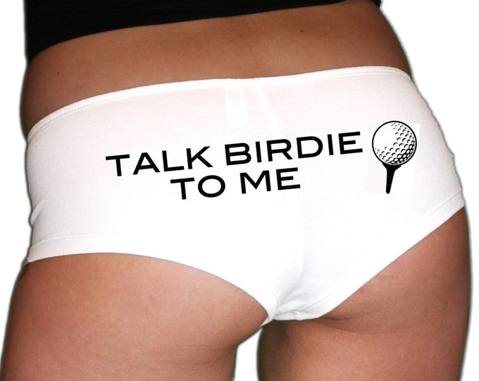Talk Birdie To Me Golf Underwear