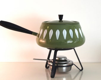 Cathrineholm Green Fondue Pot