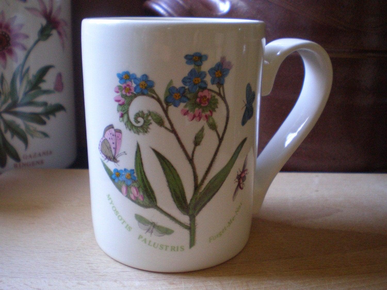 Vintage Portmeirion Botanic Garden Mug Myosotis Palustris