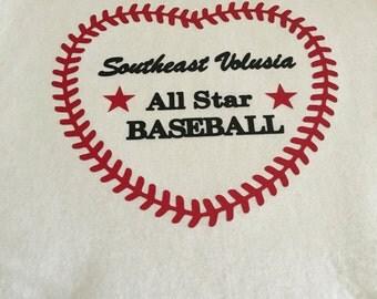 Custom baseball tank or T-shirt