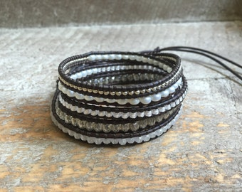Piper Beaded Wrap Bracelet