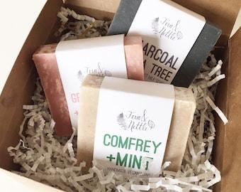 Three Soaps + Gift Box
