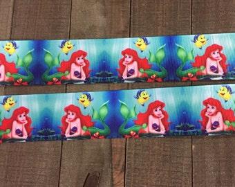 Little Mermaid Ribbon, 1.5' Ariel Ribbon
