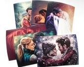 Emma & Hook: Captain Swan photo prints - various pictures!