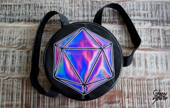 El Wire Round Odesza Light Up Backpack For Raves Festivals