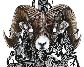 Goat (Print)
