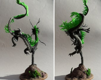 Dragon Lamonn sculpture fantasy