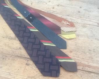 Fantastic vintage ties