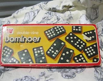 Vintage Dominoes game