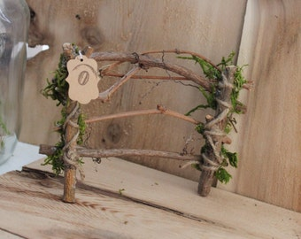 Fairy Fence ~ Fairy Garden Fence, 5 Inch Section ~ Handcrafted by Olive ~