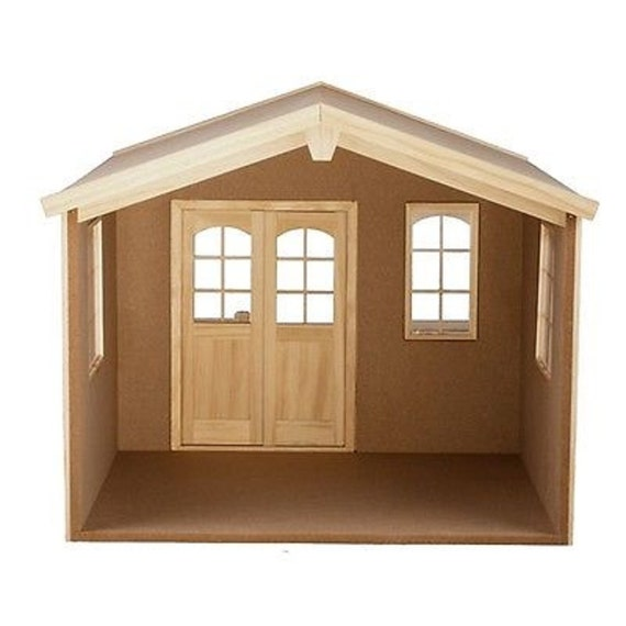 Items Similar To New Dollhouse Backyard Bungalow Kit With