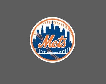 Full New York Mets - Die Cut Decal/Sticker