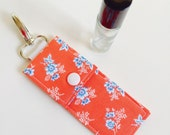 CUSTOM ORDER (Jennifer) Essential Oil Case- Travel Clip (Rollerball), Coral Floral & Others