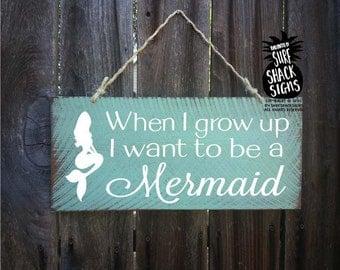 mermaid, mermaid wall decor, Mermaid sign, mermaid decor, be a mermaid sign, mermaid decoration, mermaid wall decor, 85