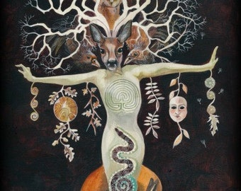 Tree of Life ....Dream Weaver Giclee Print