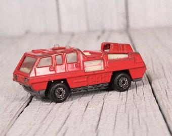 Vintage Matchbox toy Matchbox blaze buster fire engine 1975 Matchbox car Made in Bulgaria Matchbox, Collectible Car Matchbox PAT N: 1238927