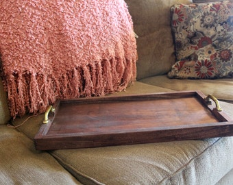 Serving tray or ottoman tray