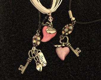 Love/Heart Charm Necklace
