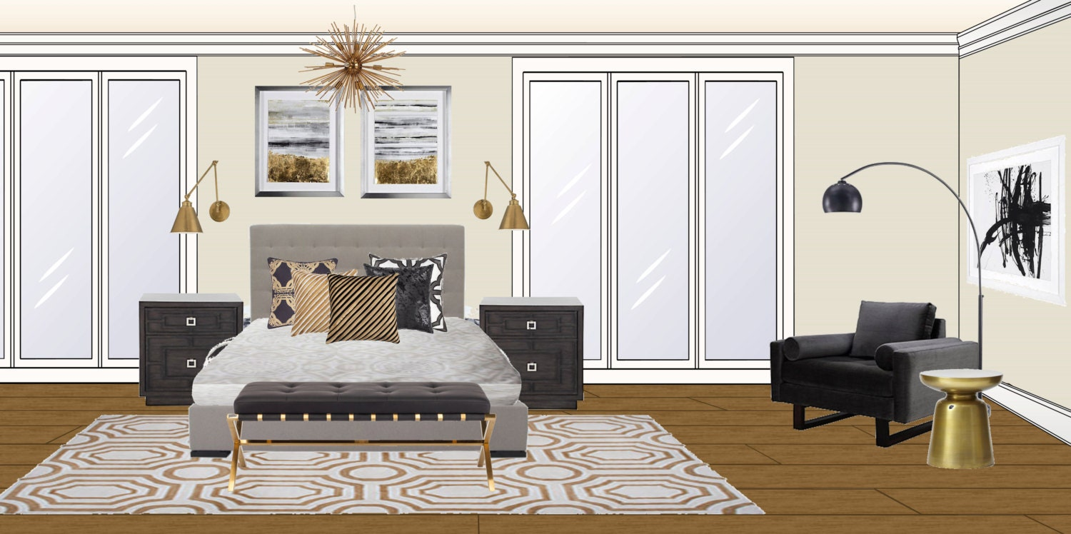 edesign interior design design board