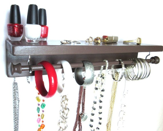 Necklace Wall Hanger Jewelry Organizer Jewelry By
