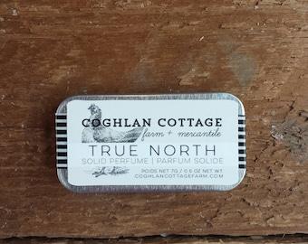 SOLID PERFUME | True North | Bergamot, Clary Sage + Citrus Solid Cologne