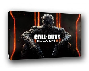 Call of Duty Black Ops Canvas Art Print A1 A2 A3 A4