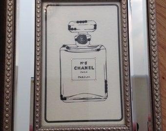 Chanel No.5 Perfume Frame