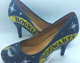 Hog. Warts  Harry Potter heels. FREE GIFT