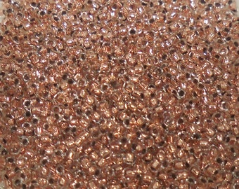 Toho Seed Bead Size 15 Inside Color Copper/Crystal 9gr 26742