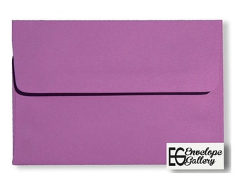 Amethyst Purple (100 Boxed) Envelopes for Invitations Greeting Cards Announcements Showers Stampin Up Response Weddings A2 A6 A7 Astrobright
