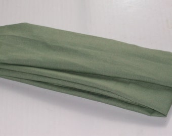 Green Linen Fabric Cord Cover Variety of Sizes