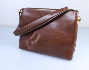 Rodo Brown Vintage Leather Purse