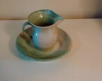 Moretz bowl and pitcher