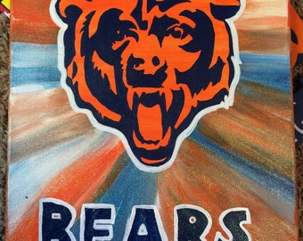 Chicago bears painting