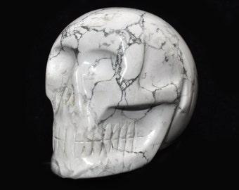 Magnesite crystal skulls, skull, 460 grams