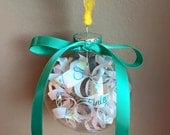 Baby Shower Invitation Ornament // Perfect Baby Shower Gift // Mother-to-Be Gift