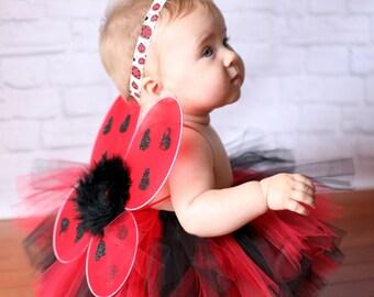 Toddler Ladybug Costume - Ladybug Halloween Costume - Baby Ladybug Costume - Ladybug Tutu - Cute Toddler Halloween Costume - Ladybug Outfit