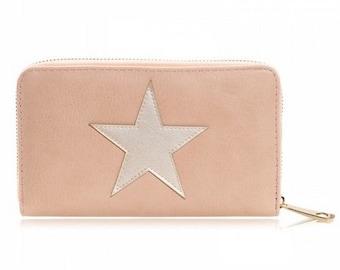 Star wallet light pink
