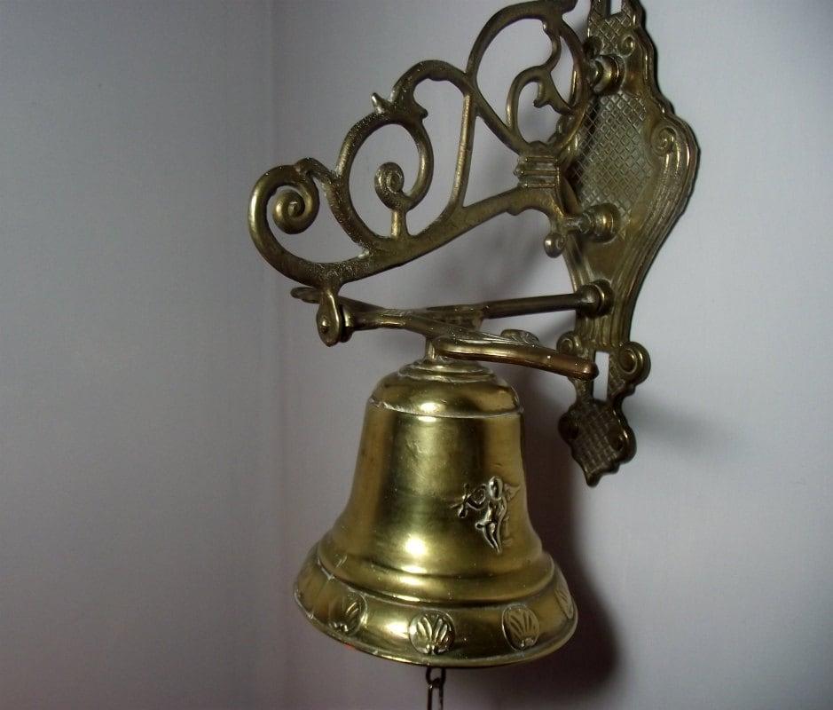 Wall Mounted Brass Bell Hanging Bell Brass Door Bell Brass