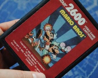 Atari 2600 Cart Soap Parody: Retro and geeky! Handmade cartridge soap - Atari 2600 - Mario Bros, retro gamer, novelty, geek