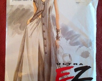 Vogue 8961 Pattern Dress and Pants Ultra EZ Vogue 1994