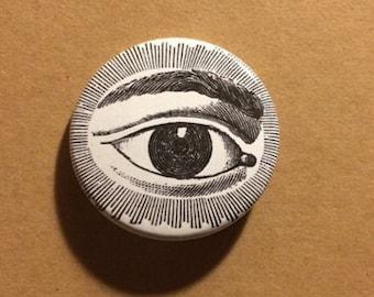 Occult Eye Pinback Button
