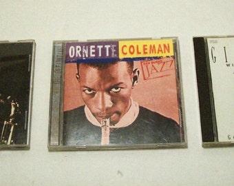 3 Jazz CDs Gene Ammons - Ornette Coleman - Dizzy Gillespie, Audio CD, Jazz