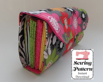 Cash Envelope Wallet SEWING PATTERN PDF, Cash Budget System, Trifold Wallet -It can be used with the Ramsey Budgeting System