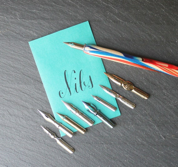 Leonardt Nib Starter Set Calligraphy Kit Modern